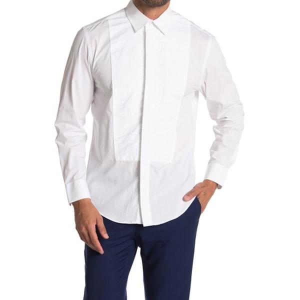 【サイズ交換OK】 タリア メンズ シャツ トップス White Tuxedo Shirt WHITE, 琉球レザーLLA 3a7cb3ff