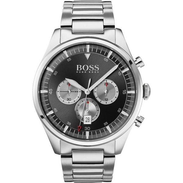 <title>ボス メンズ アクセサリー 腕時計 格安 silver-coloured 全商品無料サイズ交換 Chronograph watch - xyeq0054</title>