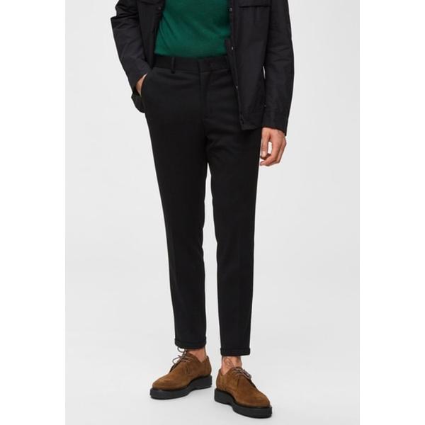 セレクテッドオム メンズ ボトムス 爆買いセール カジュアルパンツ 100%品質保証 black xyeq0057 全商品無料サイズ交換 Trousers -