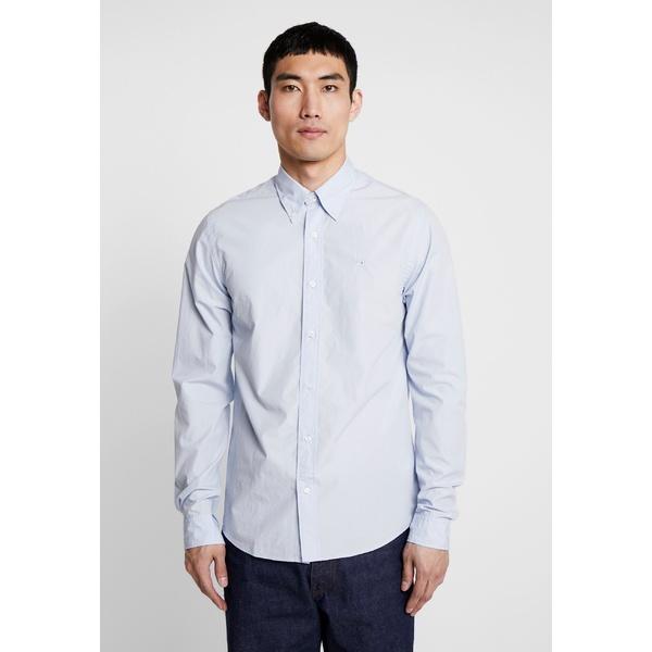 スコッチアンドソーダ メンズ トップス シャツ blue 全商品無料サイズ交換 CRISPY REGULAR xyeq0059 - 往復送料無料 SALENEW大人気! Shirt DOWN FIT COLLAR BUTTON