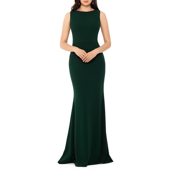 ベッツィ アンド アダム アダム Gown レディース ワンピース ワンピース トップス Bow Back Mermaid Gown Emerald, 桐箱空間:dfe78e20 --- officewill.xsrv.jp