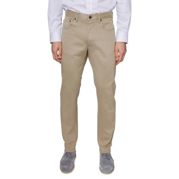 ヒッキーフリーマン メンズ カジュアルパンツ ボトムス Regular-Fit Stretch Pants Tan