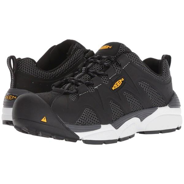 キーン メンズ ブーツ&レインブーツ シューズ San Antonio Aluminum Toe Black/Grey