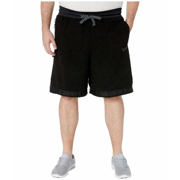 ナイキ メンズ ハーフ&ショーツ ボトムス Big & Tall Cozy DNA Shorts Black/Smoke Grey