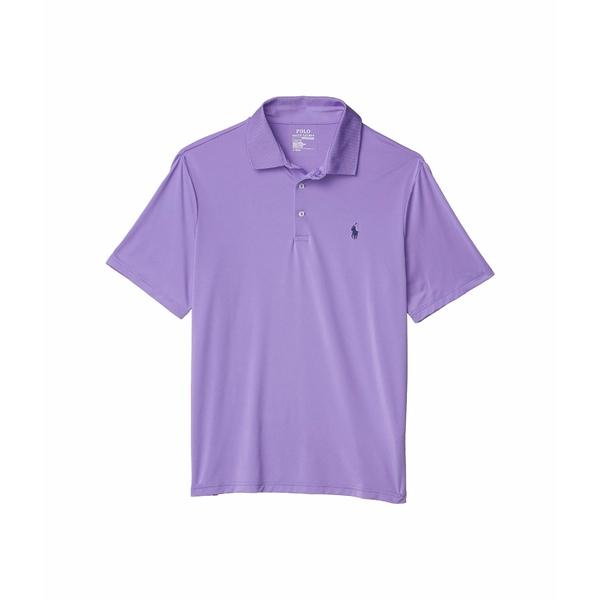 ラルフローレン メンズ シャツ トップス Classic Fit Performance Polo Purple