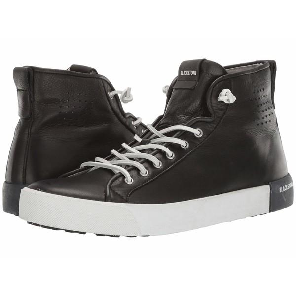 ブラックストーン メンズ スニーカー シューズ High Top Sneaker - PM43 Black