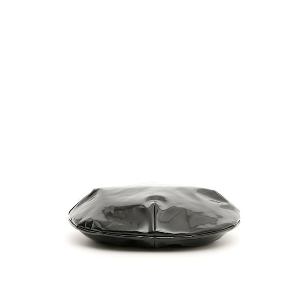フラッパー レディース 帽子 アクセサリー Flapper Calipso Vinyl Beret BLACKBlack