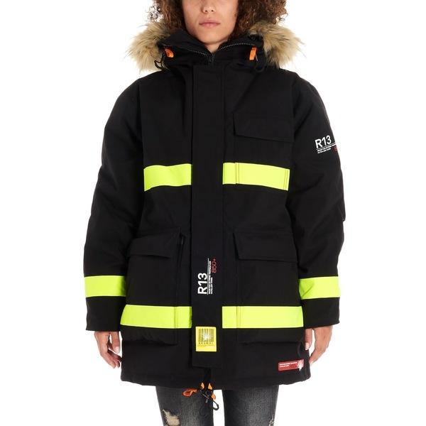 アールサーティーン レディース ジャケット&ブルゾン アウター R13 'fireman' Parka Multicolor