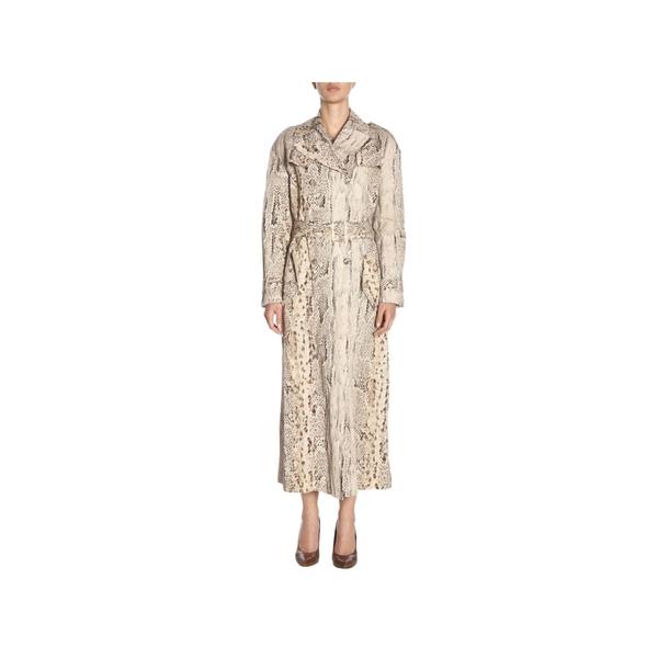 ブルマリン レディース ジャケット&ブルゾン アウター Blumarine Coat Coat Women Blumarine beige