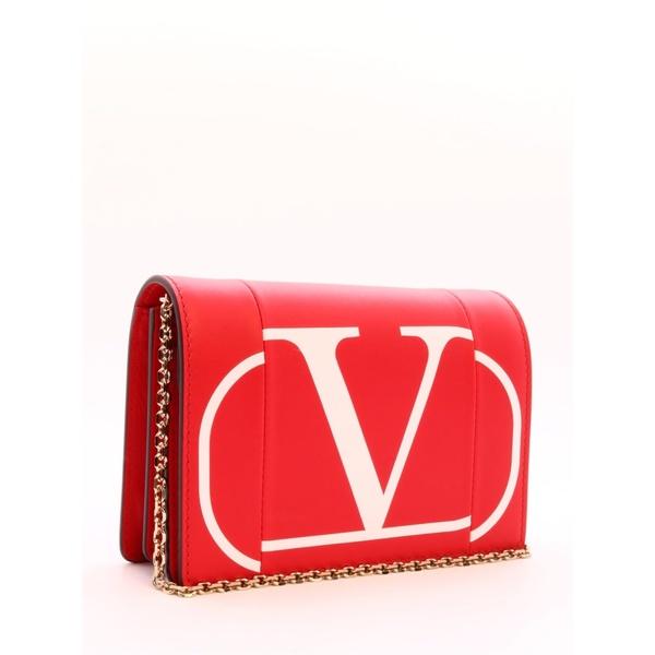 ヴァレンティノ ガラヴァーニ レディース クラッチバッグ バッグ Valentino Garavani Pouch Go Logo Red Red