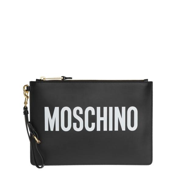 モスキーノ レディース クラッチバッグ バッグ Moschino Clutch Black