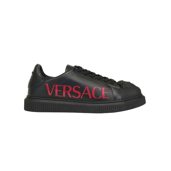 ヴェルサーチ メンズ スニーカー シューズ Versace Sneakers Neroposterred
