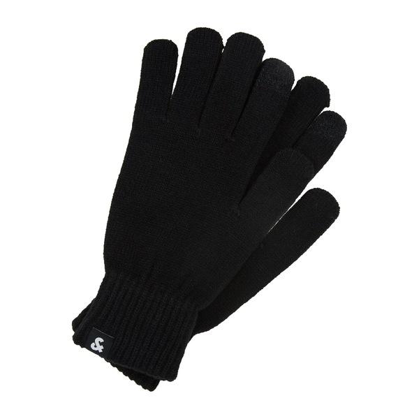 オリジナル ジャック アンド ジョーンズ メンズ アクセサリー 受注生産品 手袋 GLOVES - JACBARRY Gloves 全商品無料サイズ交換 black