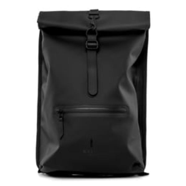 レインズ メンズ バックパック・リュックサック バッグ Waterproof Rolltop Backpack Black