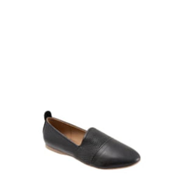 ブエノ レディース サンダル シューズ Katy Flat Black Leather