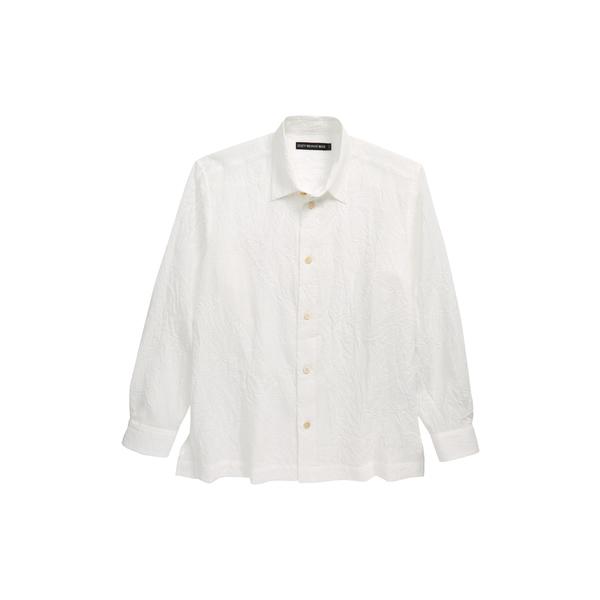 イッセイミヤケ メンズ シャツ トップス Men Crush Shirt Off White