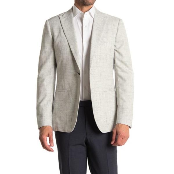 レイス メンズ ジャケット&ブルゾン アウター Light Grey Birdseye One Button Peak Lapel Suit Separates Blazer LIGHT GREY