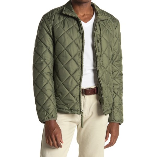 Humbolt Jacket Faux Quilted アウター Shearling OLIVE アンドリューマーク ジャケット&ブルゾン メンズ Lined