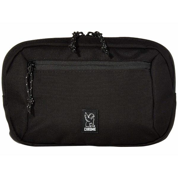 クローム メンズ ボディバッグ・ウエストポーチ バッグ Zip Top Waistpack Black