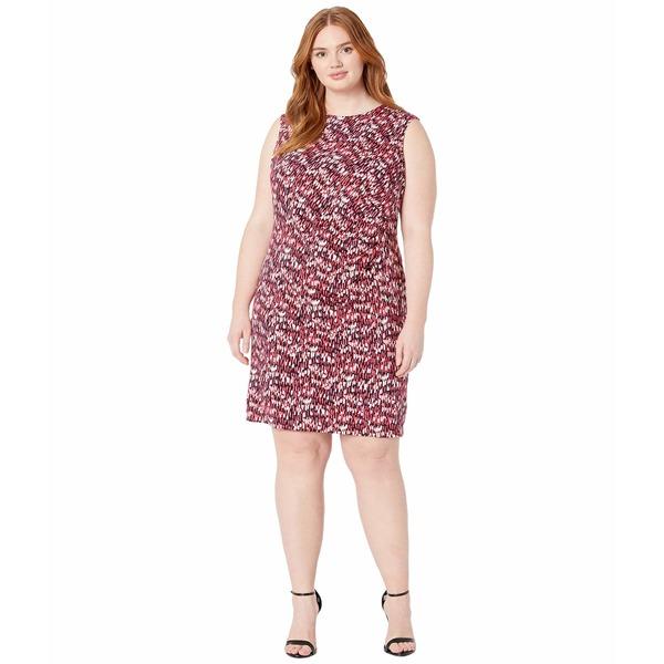 ニックプラスゾーイ レディース ワンピース トップス Plus Size Bright Burst Twist Dress Pink Multi
