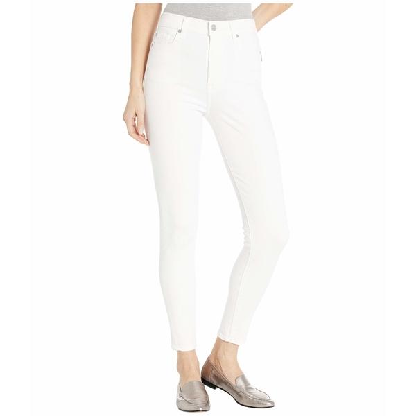 7フォーオールマンカインド レディース デニムパンツ ボトムス High-Waist Ankle Skinny in Slim Illusion White Slim Illusion White