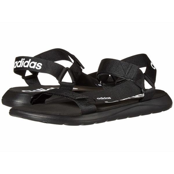 アディダス メンズ サンダル シューズ Comfort Sandal Core Black/Core Black/Footwear White