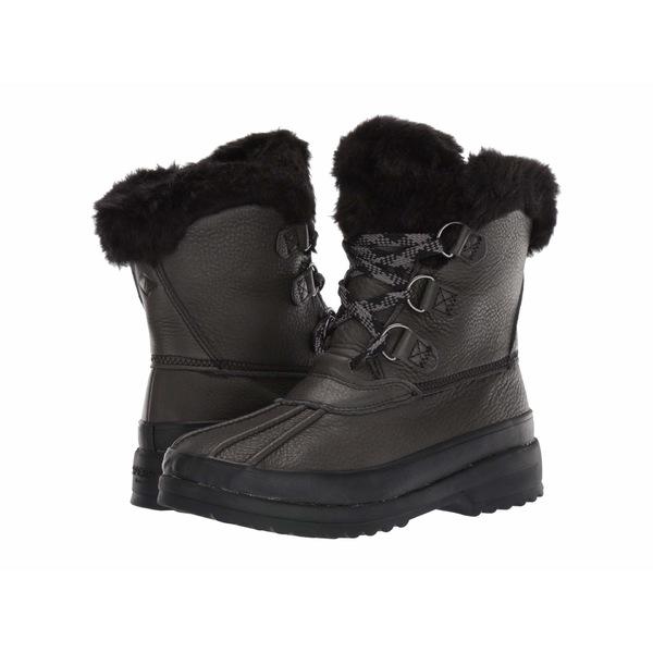 スペリー レディース ブーツ&レインブーツ シューズ Maritime Winter Boot Leather Black