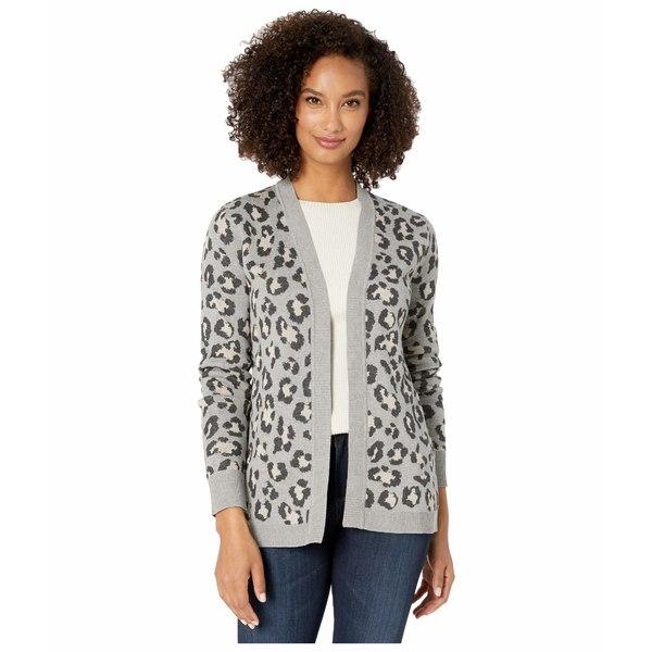 カルバンクライン レディース ニット&セーター アウター Leopard Print Knit Sweater Khaki Multi