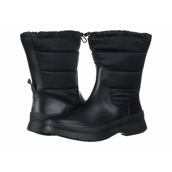 コールハーン レディース ブーツ&レインブーツ シューズ Pinch Utility Puffer Boot Waterproof Black WP Leather/Black Nylon/Gunmetal/Black