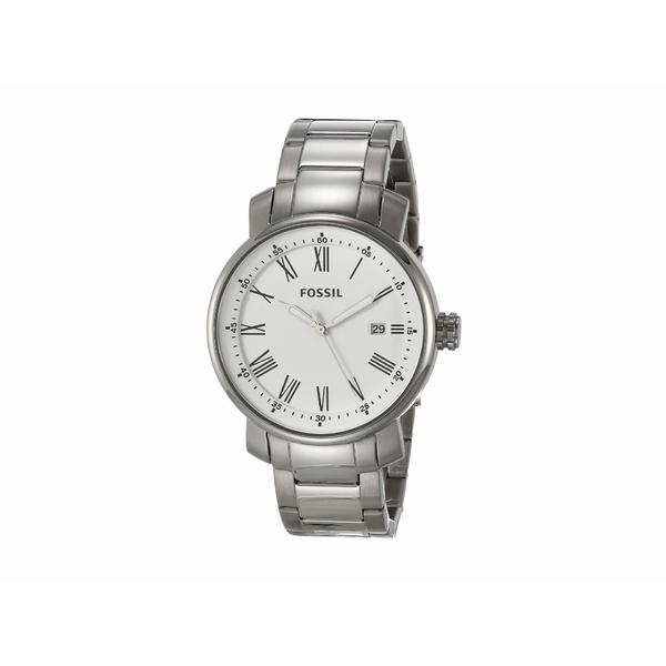 フォッシル メンズ 腕時計 アクセサリー 42 mm Rhett BQ1012 Silver