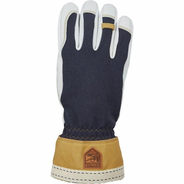 ヘストラ メンズ 手袋 アクセサリー Army Leather Tundra Glove Navy/Natural Grey