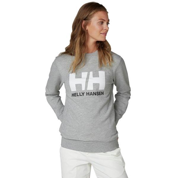 ヘリーハンセン レディース パーカー・スウェットシャツ アウター HH Logo Crew Sweatshirt - Women's Grey Melange