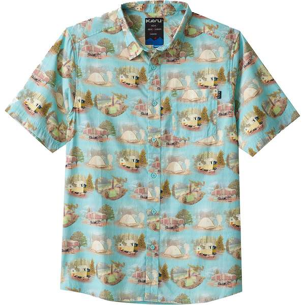 カブー メンズ シャツ トップス The Jam Short-Sleeve Shirt - Men's Car Camp
