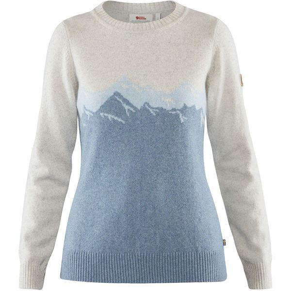 フェールラーベン レディース ニット&セーター アウター Greenland Re-Wool View Sweater - Women's Dusk