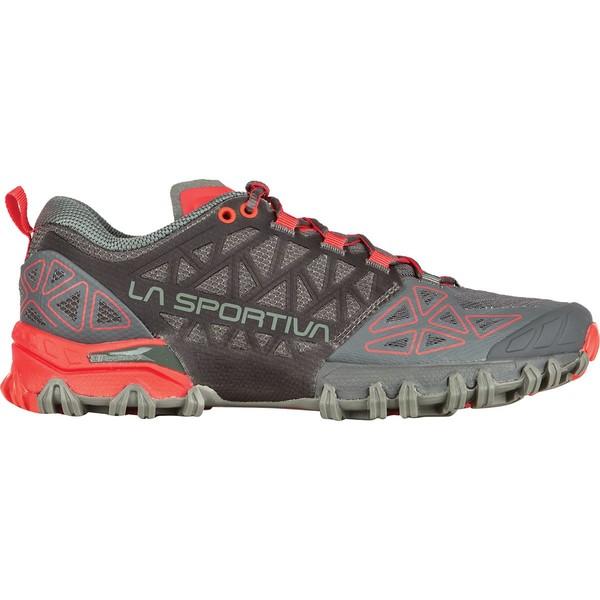 ラスポルティバ レディース スニーカー シューズ Bushido II Trail Running Shoe - Women's Carbon/Hibiscus