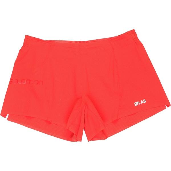 サロモン メンズ ハーフ&ショーツ ボトムス S-Lab 4in Short - Men's Racing Red
