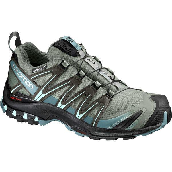 サロモン レディース スニーカー シューズ XA Pro 3D CS WP Trail Running Shoe - Women's Shadow/Black/Artic