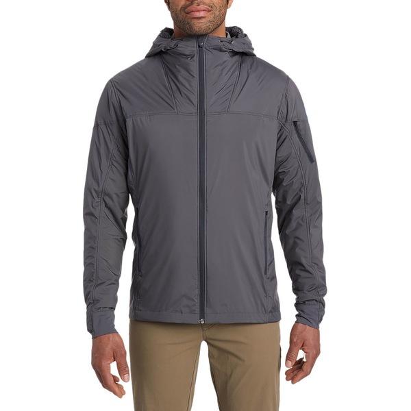 キュール メンズ ジャケット&ブルゾン アウター The One Hooded Jacket - Men's Carbon