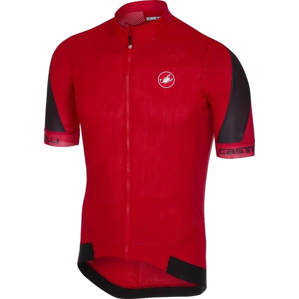 カステリ メンズ サイクリング スポーツ Volata 2 Jersey - Men's Red/Black