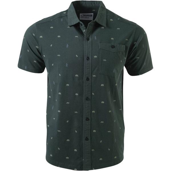 マウンテンカーキス メンズ シャツ トップス YWS Short-Sleeve Shirt - Men's Kelp