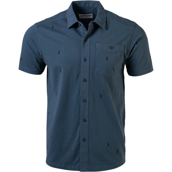 マウンテンカーキス メンズ シャツ トップス YWS Short-Sleeve Shirt - Men's Dusk