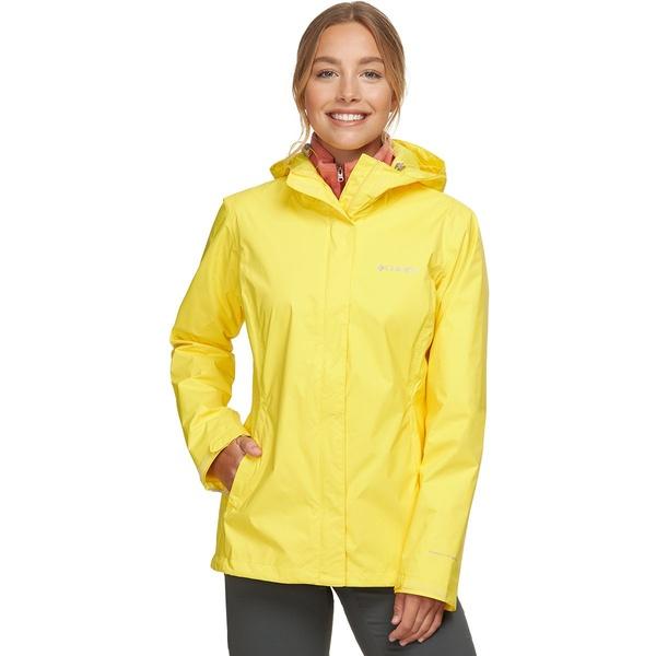 コロンビア レディース ジャケット&ブルゾン アウター Arcadia II Rain Jacket - Women's Buttercup