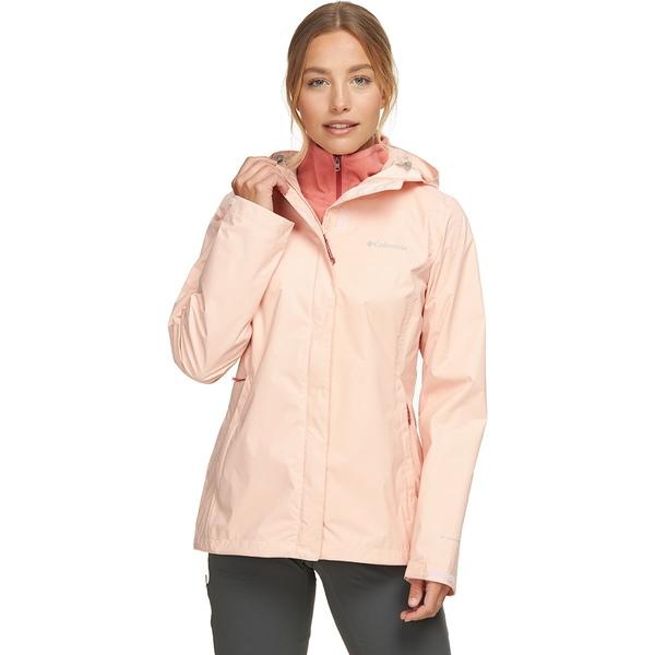コロンビア レディース ジャケット&ブルゾン アウター Arcadia II Rain Jacket - Women's Peach Cloud