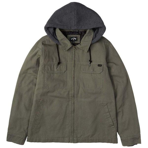 ビラボン メンズ ジャケット&ブルゾン アウター Barlow Twill Jacket - Men's Pine