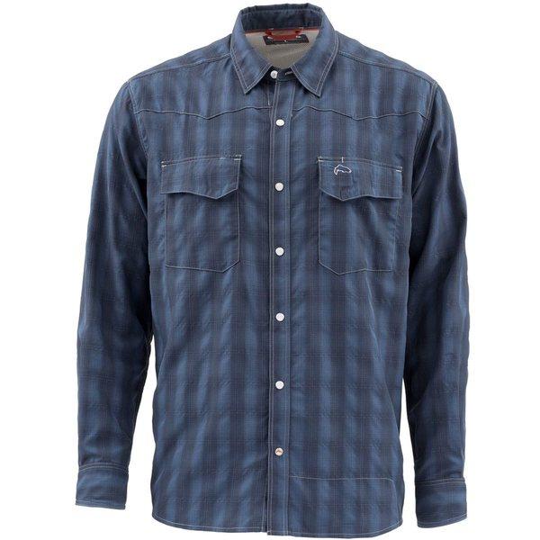 シムズ メンズ シャツ トップス Big Sky Shirt - Men's Admiral Blue