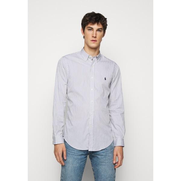ラルフローレン メンズ トップス シャツ grey white ふるさと割 - 全商品無料サイズ交換 NATURAL ydak0024 日本限定 Shirt