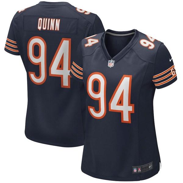 ナイキ レディース シャツ トップス Robert Quinn Chicago Bears Nike Women's Player Game Jersey Navy