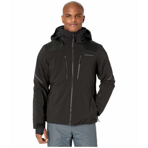 オバマイヤー メンズ コート アウター Foundation Jacket Black 2