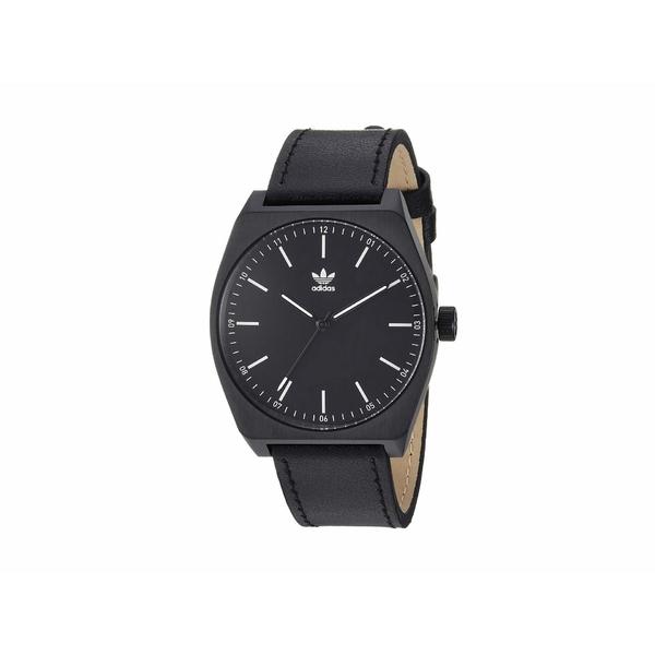 アディダス メンズ 腕時計 アクセサリー Process_L1 All Black/White