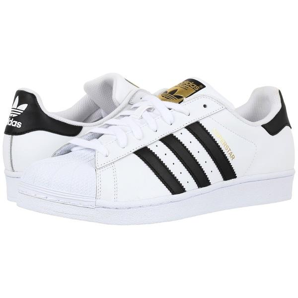 アディダスオリジナルス メンズ スニーカー シューズ Superstar Foundation White/Black/White 2